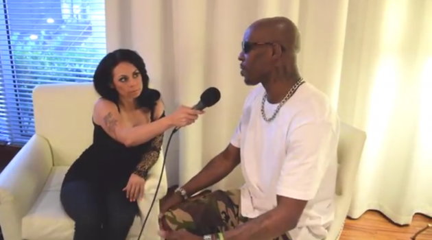 Las Vegas Soul's Real Talk Louanna Gets The Interview Of The Year With Rapper DMX